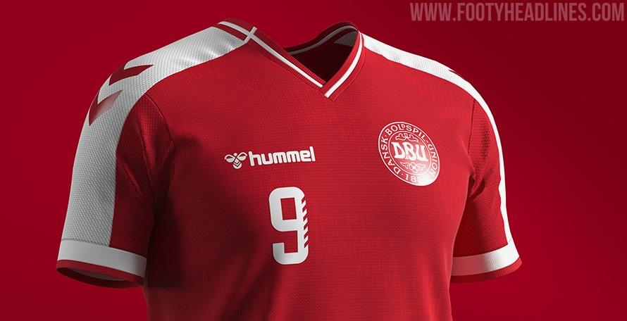 Danemark Euro 2020 Concept Home Kit - Les kits Hummel Denmark toujours pas sortis - Championnat d'Europe 2020
