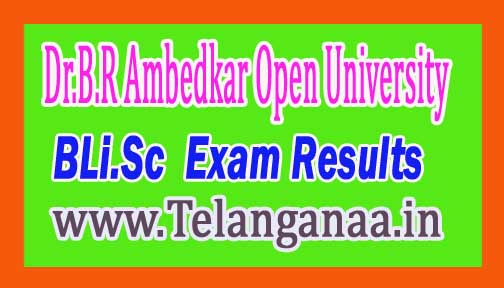 Dr.B.R Ambedkar Open University BLi.Sc August 2016 Revaluation Results
