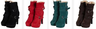 ofertón de botas para mujer