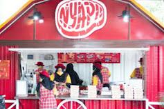 Berbahan Daging Sapi, Booth Nyapi'i Digemari Kaum Milenial