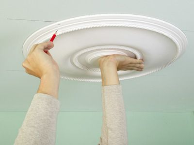 Ceiling Medallions For Light Fixtures
