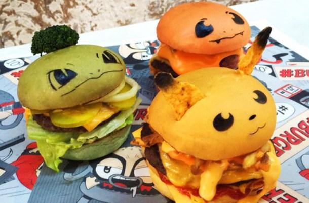Conheça os 'Pokéburgers' de um restaurante australiano.