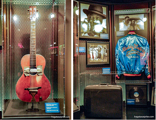 lembranças de Muddy Waters no Blues Hall of Fame, Memphis