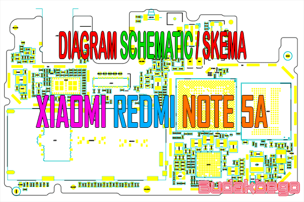 Diagram Schematic    Skema Xiaomi Redmi Note 5a
