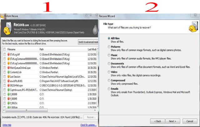 free data recover software, Recuva recover data, Recuva recover data