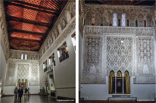 Sinagoga del Tránsito, Museu Sefardita, Toledo, Espanha