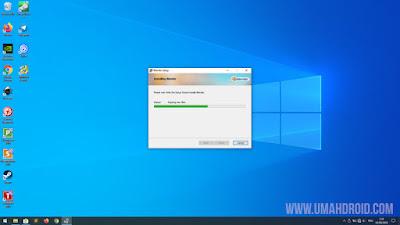 Proses Instal Blender di Windows 10