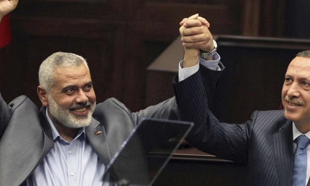 Χαμάς καλεί Ερντογάν στην Α. Μεσόγειο: ''Έλα να μας προστατεύσεις''