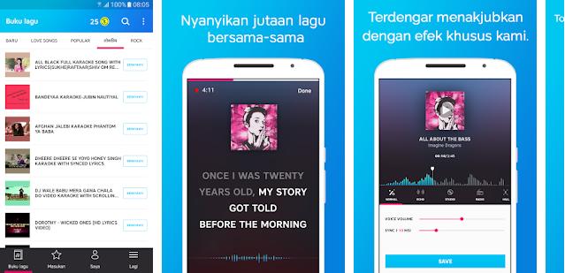 5 Aplikasi Karaoke Terbaik di Android Tahun 2019