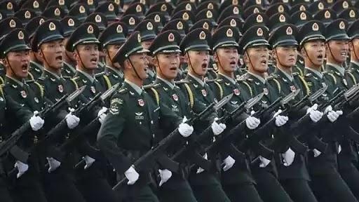 china deploys three batallions of PLA in LAC