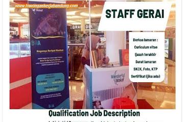 Lowongan Kerja Bandung Staff Gerai Badan Wakaf Al Qur'an