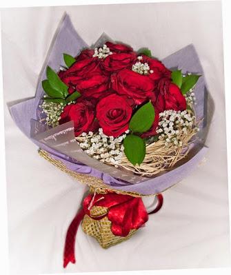 Karangan Bunga Mawar Merah dari Toko Bunga Florist Jakarta