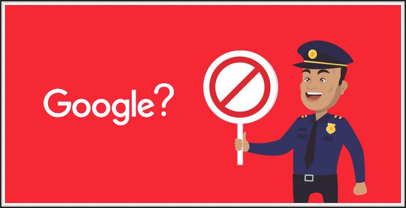 Как не попасть под фильтры Google?