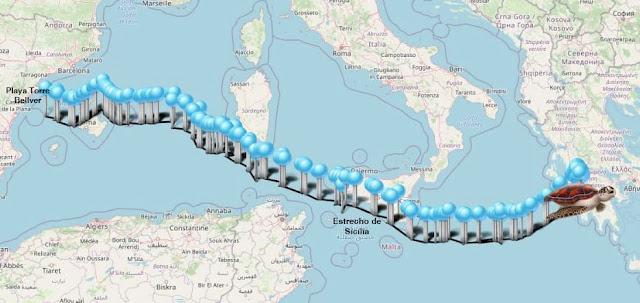 Colomera ha recorrido más de 3000 kilómetros desde el pasado 25 de junio