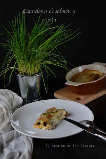 recetas con salmón y ricotta