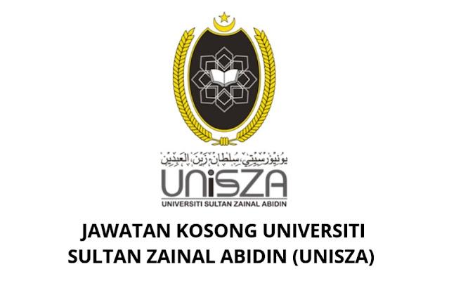 Jawatan Kosong UNISZA 2021 Universiti Sultan Zainal Abidin