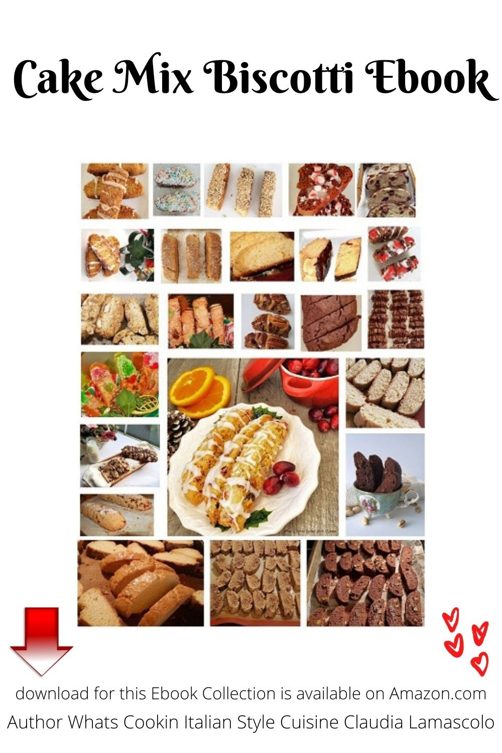 25 downloadable recipes for cake mix biscotti ebook available for sale on Amazon .com