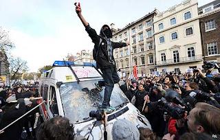 Rakeback grinders violent protest