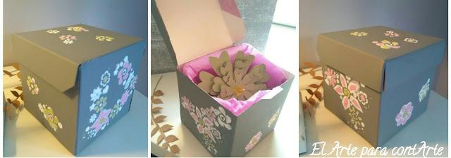 El arte para contarte decorar una caja como envoltorio - Decorar cajas de regalo ...