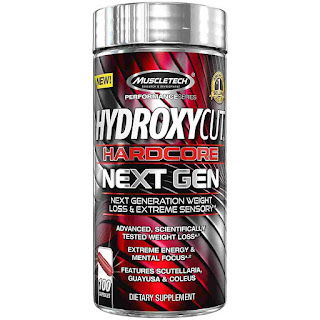 MuscleTech Hydroxycut Hardcore Next Gen with Green Coffee Bean Extract and Caffeine