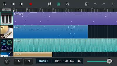 تطبيق Soundcamp للأندرويد للتسجيل الصوتي وصناعة الموسيقى