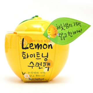 Baviphat - Lemon Whitening Sleeping Pack