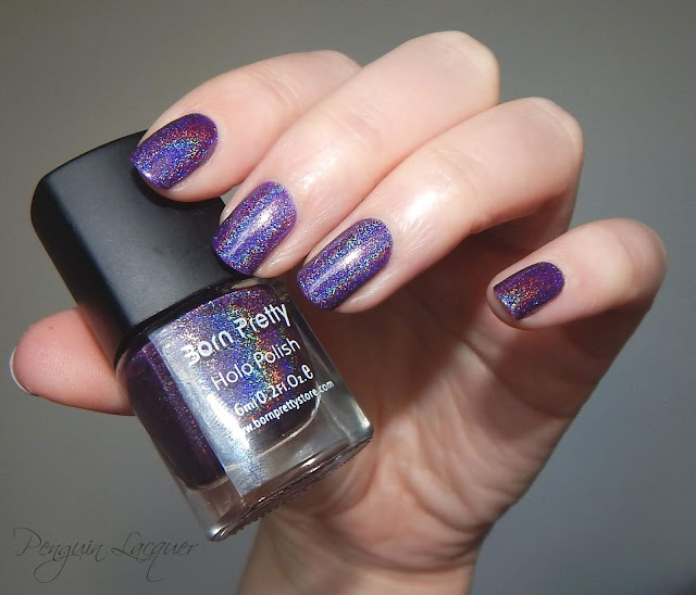 Born Pretty Store Holo Polish 11 flashlight