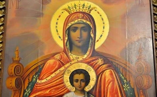 Ώ Παναγία Δέσποινα και του Θεού Μητέρα!!Η Παναγία για εμάς τους Έλληνες είναι η πονεμένη μητέρα, η παρηγορήτρια και η προστάτιδα που μας παραστέκεται σε κάθε περίσταση.!!