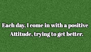 Cool captions on attitude