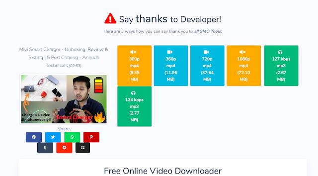Best Video Downloader For Youtube, Instagram, Facebook, Twitter & Other Platforms