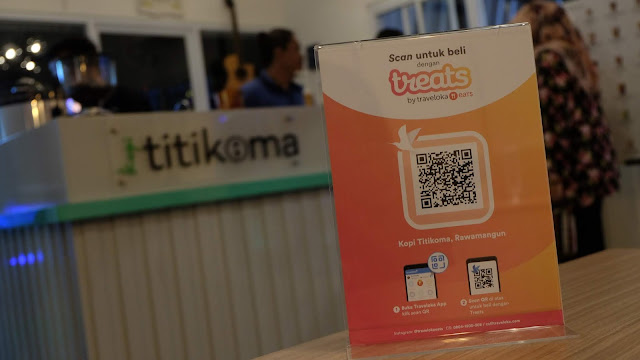 Traveloka Treats Kopi Titik Koma - Pemuda