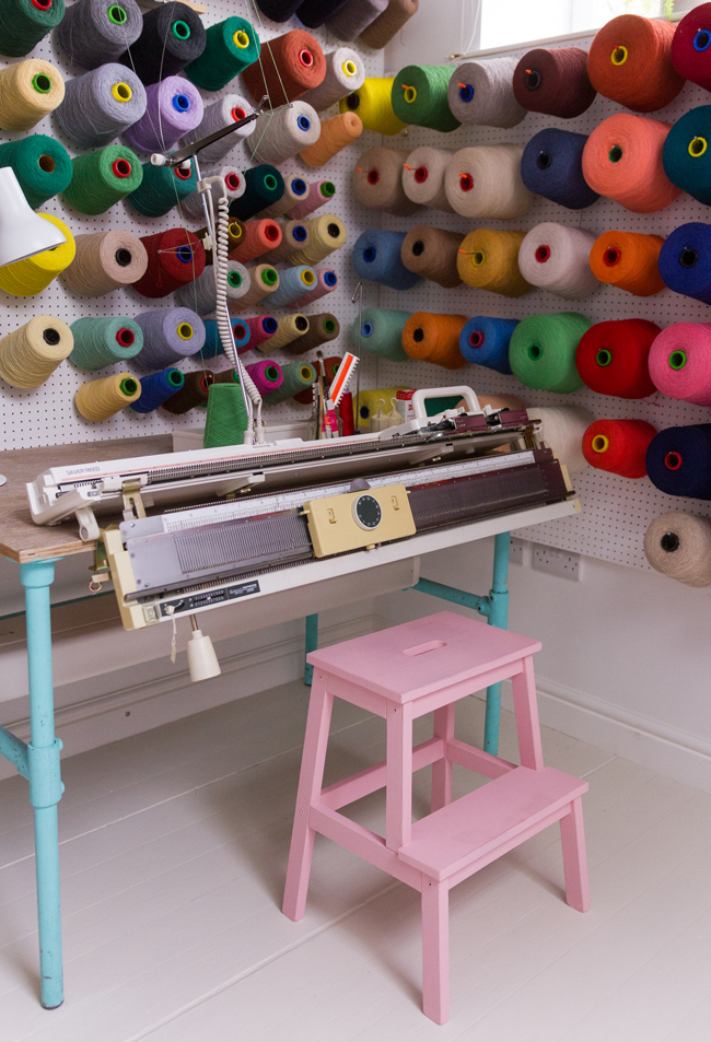 Jessica Dance Sewing Space Tour