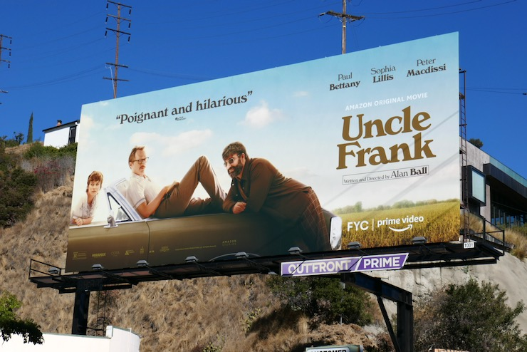 Uncle Frank movie billboard