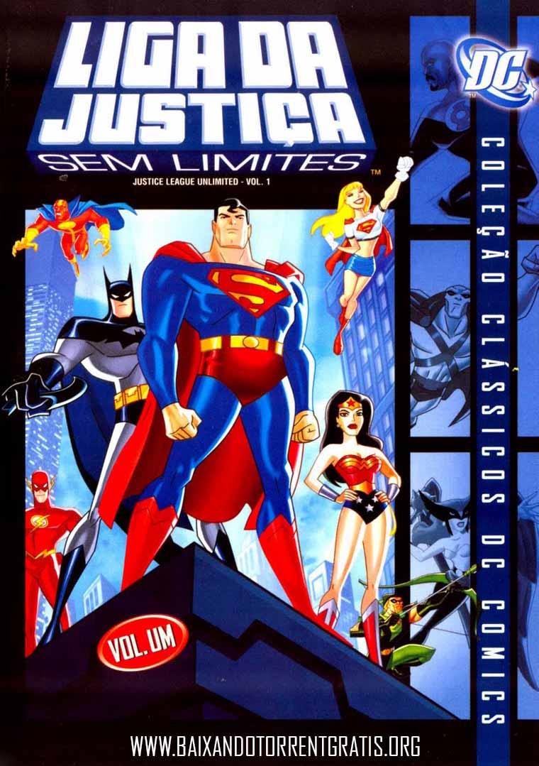 Liga da Justiça Sem Limites 1ª Temporada Torrent – WEB-DL 720p Dublado (2004)
