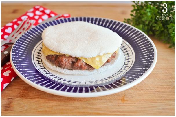 receita hambúrguer de tapioca