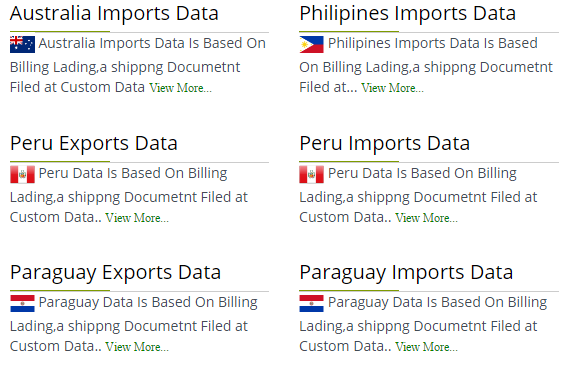 Export Import Data Company & India Export Import : Explore USA