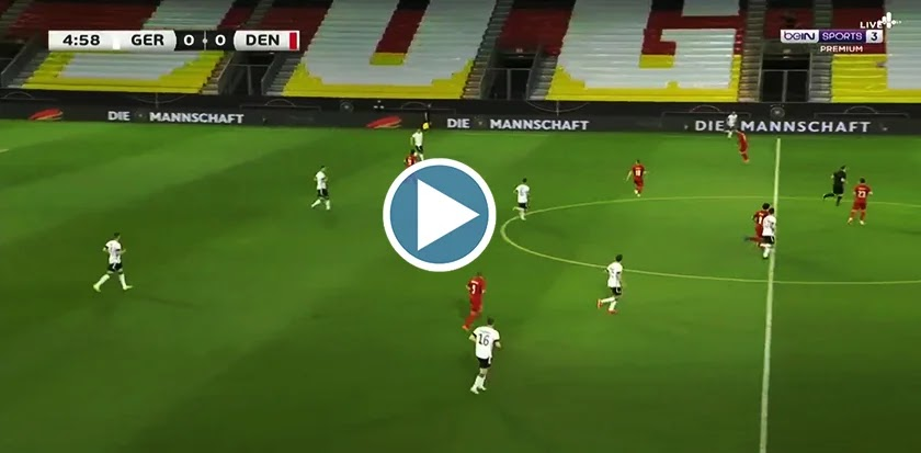 Germany vs Denmark Live Score