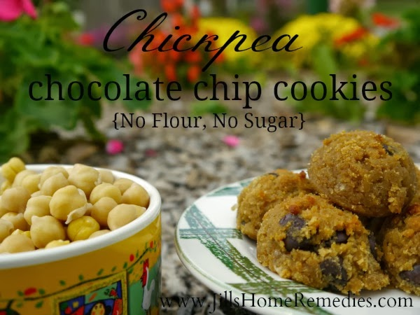 Here's an easy, healthy chickpea cookie recipe full of plant-based protein and without flour or sugar!