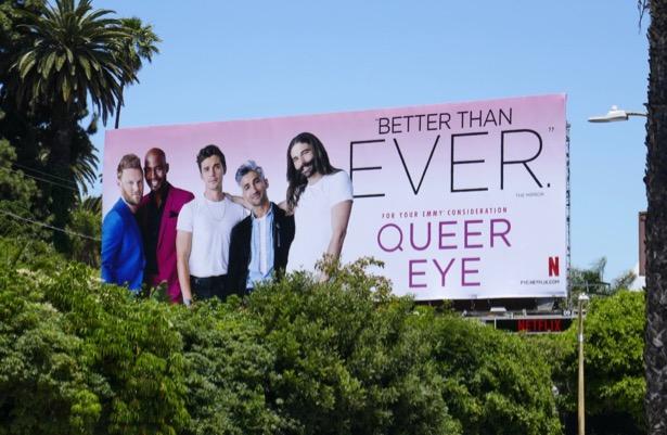 Queer Eye 2019 Emmy FYC billboard