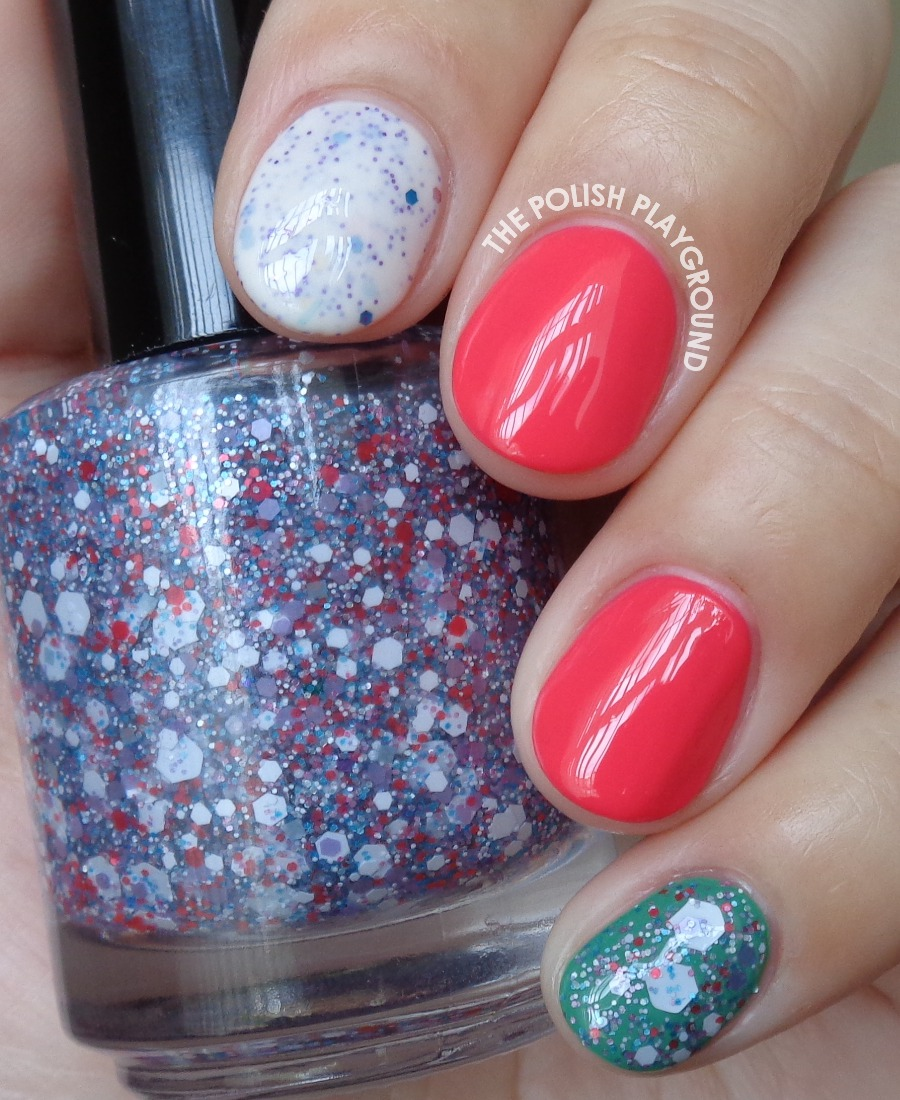 Scented Polish Skittle Nail Art