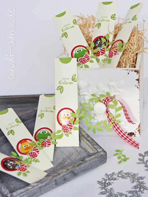 Verpackung für Schoko-Lollis Anleitung