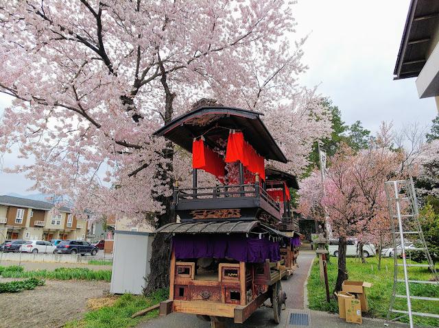 あづみ野やまびこ自転車道 諏訪神社