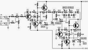 Wiring Schematic Diagram: 70 Watt Guitar Amplifier Using