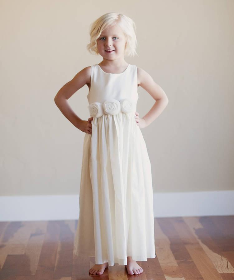 Wedding Dress For Flower Girls: Bridal Fashion Show : Seaside Flower Girl Dress