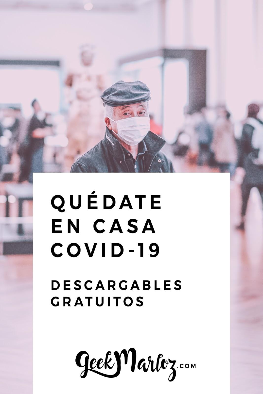 Marcas se únen para mejorar la Cuarentena ante el COVID-19 [descargas gratis ] #Quedatencasa