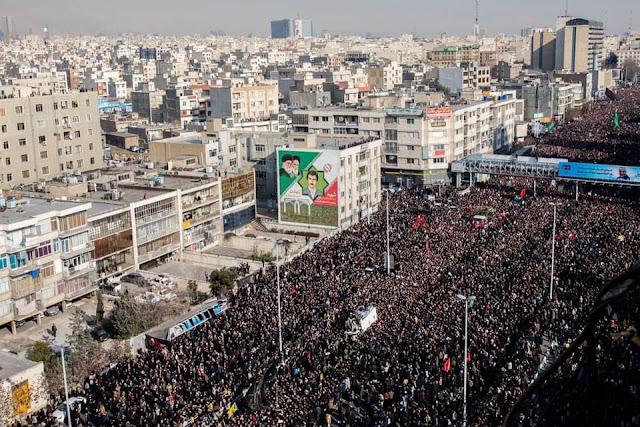 Hoãn chôn ông Soleimani vì số lượng người chết tăng cao