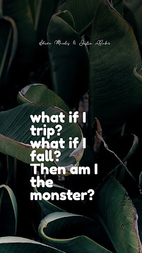 Pictures Quotes Shawn Mendes & Justin Bieber - Monster | Mobile Wallpaper