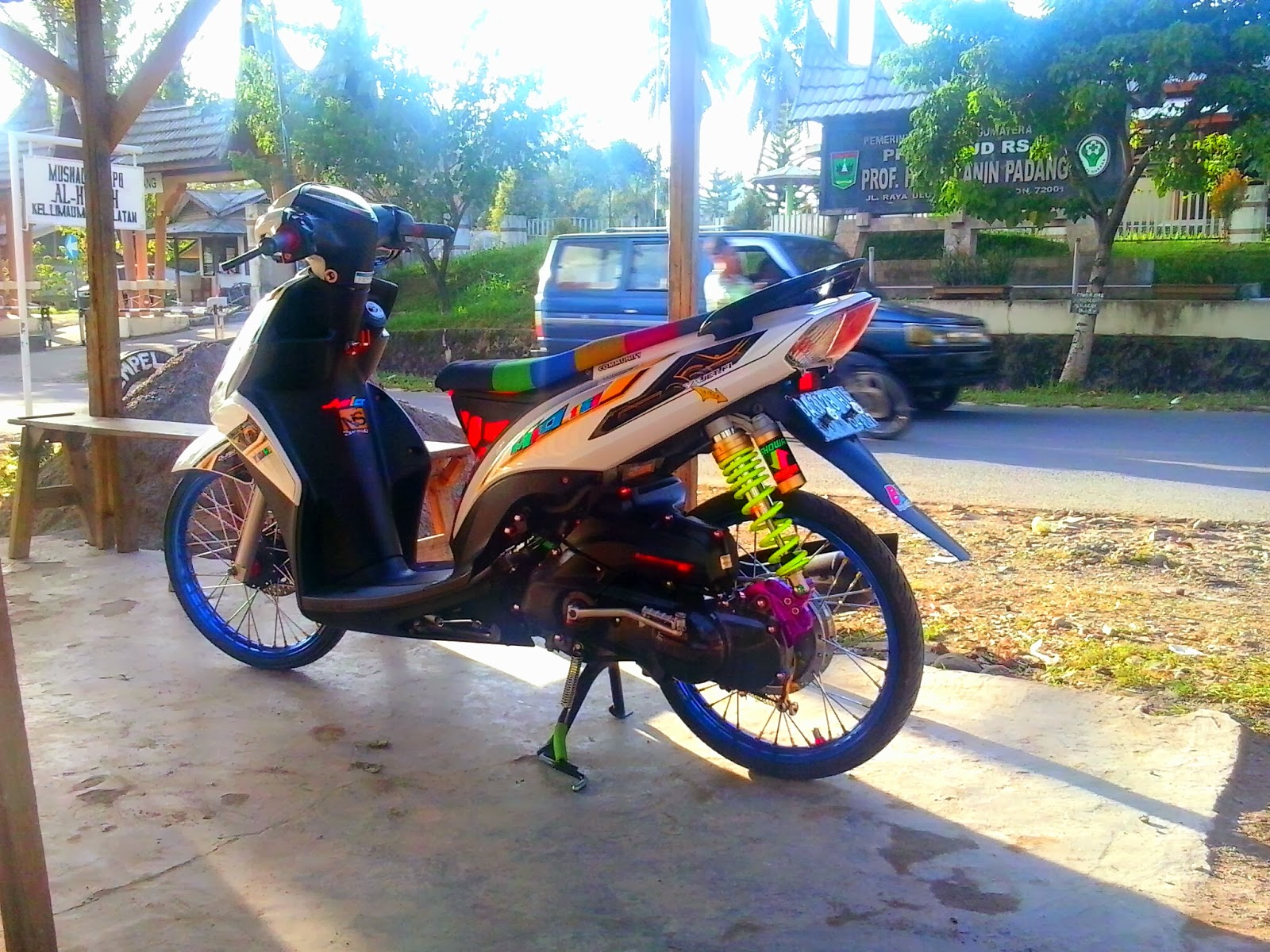 modifikasi mio z thailook terkeren
