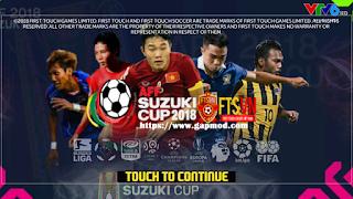 FTS Mod AFF Suzuki Cup 2018 Apk Data Obb