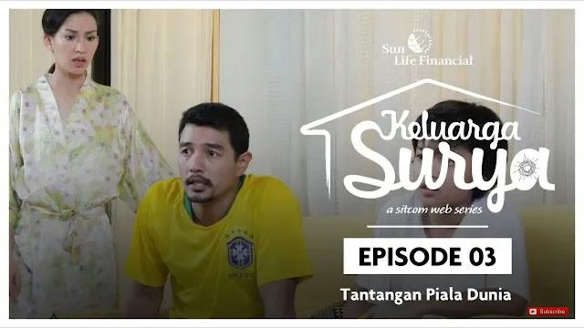 Tantangan Piala Dunia dari Keluarga Surya